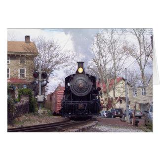 La nueva esperanza y el motor de vapor de Ivyland Tarjetón