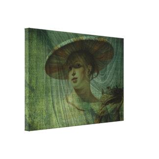 La nueva mirada impresión en lienzo estirada