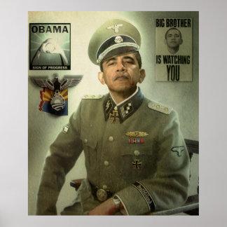 La nueva pedido de Obama Poster