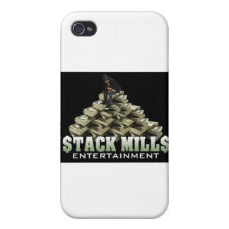 La nueva pila muele el logotipo (el negro) iPhone 4 cobertura