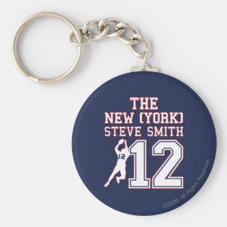 La Nueva York Steve Smith Llavero Redondo Tipo Pin