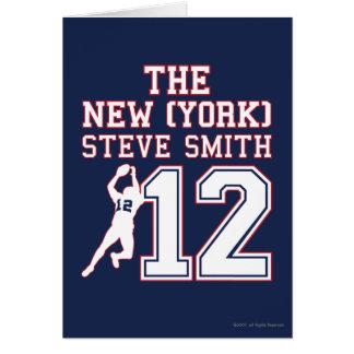 La Nueva York Steve Smith Tarjeta De Felicitación
