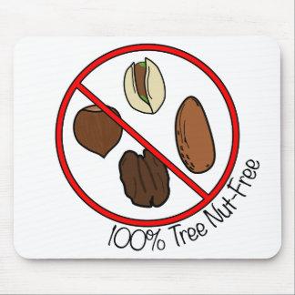 La nuez 100% del árbol libera alfombrilla de raton