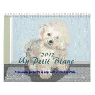La O N U Blanc pequeno - un calendario para los am