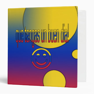 """¡La O.N.U Buen Día de Que Tengas! Colores de la Carpeta 1 1/2"""""""