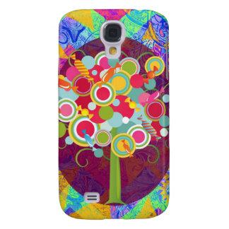 La O.N.U colorida del extracto del Lollipop del ár Funda Para Galaxy S4