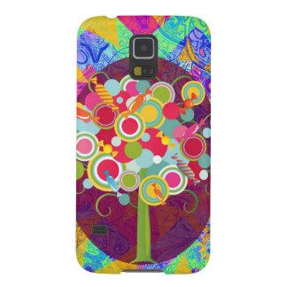 La O.N.U colorida del extracto del Lollipop del Carcasas Para Galaxy S5