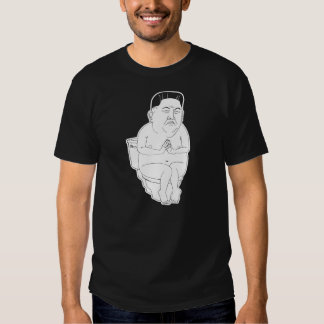 La O.N.U de Kim Dzong - camiseta divertida del Remera