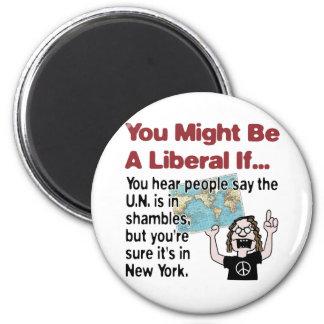 La O.N.U en la confusión Imán Redondo 5 Cm
