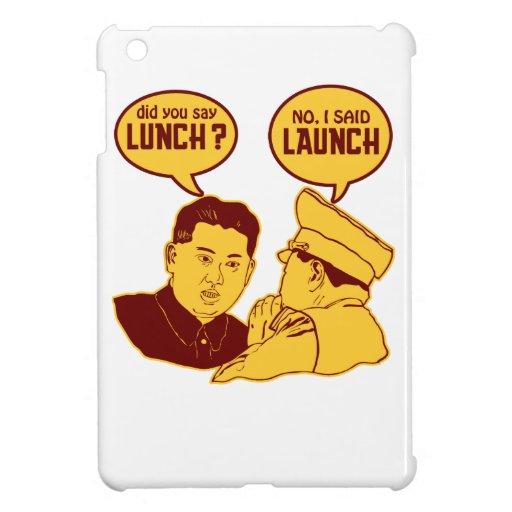 La O.N.U hambrienta de Kim Jong iPad Mini Carcasa