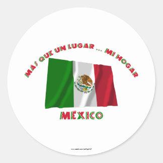 La O.N.U Lugar de México - de Más Que Pegatina Redonda