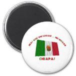 La O.N.U Lugar… MI Hogar de Chiapas - de Más Que Imán Redondo 5 Cm