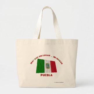 La O.N.U Lugar… MI Hogar de Puebla - de Más Que Bolsa Tela Grande