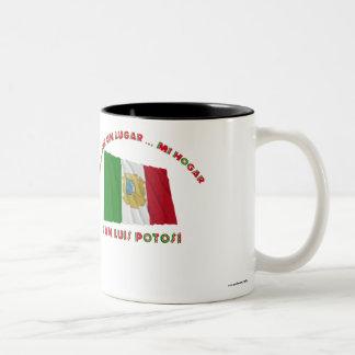 La O.N.U Lugar… MI Hogar del San Luis Potosí - de Taza De Café De Dos Colores