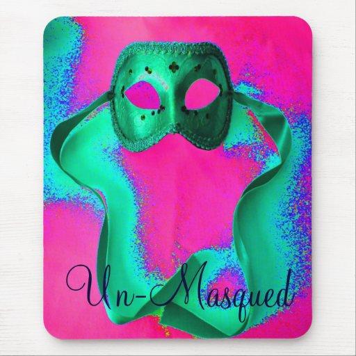 "La ""O.N.U-Masqued"" Mousepad - personalizable"