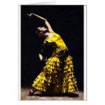 La O.N.U Momento Intenso del Flamenco Tarjetas