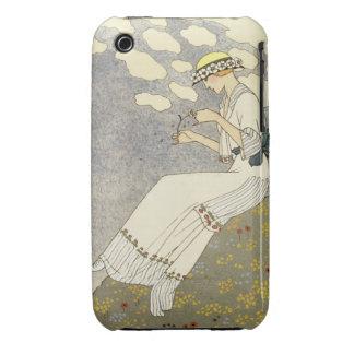 La O.N.U Peu…, diseño para un vestido del país de Case-Mate iPhone 3 Fundas
