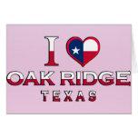 La Oak Ridge, Tejas Felicitaciones