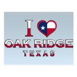 La Oak Ridge, Tejas Postales