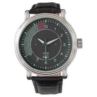 La obra clásica 356 rev al revés, coche de relojes de mano