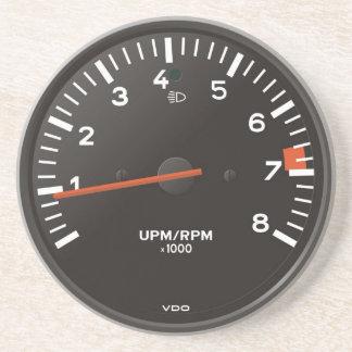 La obra clásica 911 rev al revés (el coche posavasos personalizados