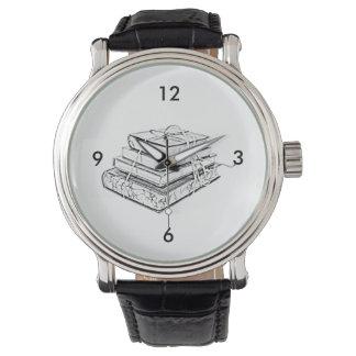 La obra clásica atada reserva bosquejo literario reloj