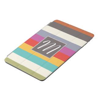 La obra clásica raya el monograma • Cuadrado de Cubierta De iPad Mini