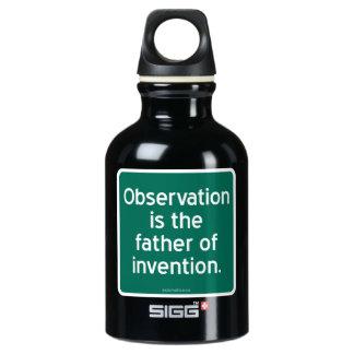 La observación es el padre de la invención