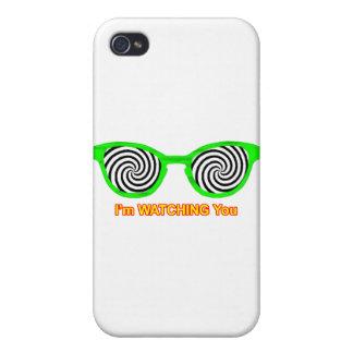 La observación hipnotiza el borde verde de las gaf iPhone 4/4S carcasa