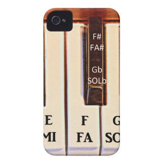 La octava del piano HACE CON REFERENCIA al MI Case-Mate iPhone 4 Protectores