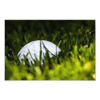 la ocultación de la pelota de golf remezcla arte con fotos