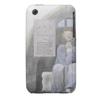 La oda a la adversidad, diseña 37 'de los poemas d Case-Mate iPhone 3 protector