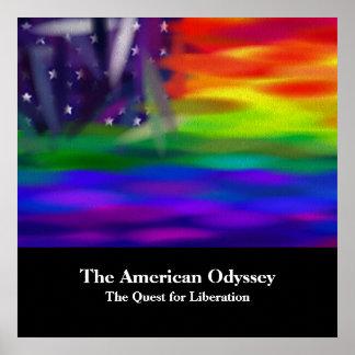 La odisea americana póster