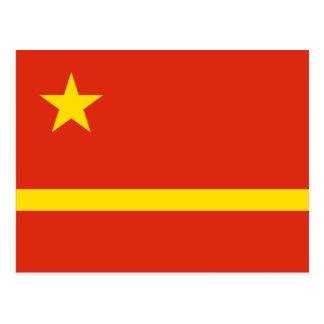 La oferta de Mao Zedong para la bandera del Prc Postales