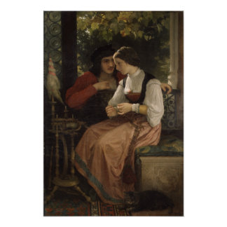 La oferta - Guillermo Bouguereau Poster