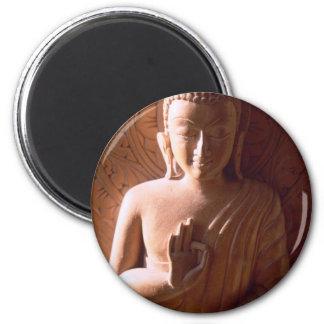 La oferta hizo frente a Buda Imán Redondo 5 Cm