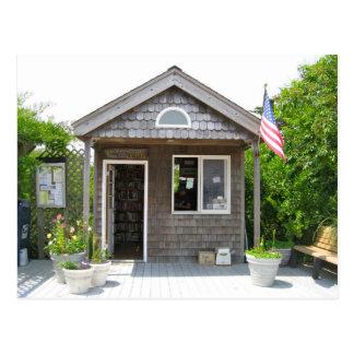 La oficina de correos en la isla del fuego tarjeta postal