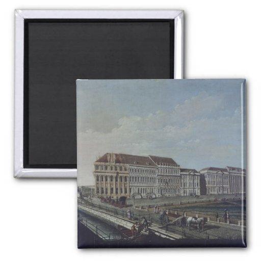 La oficina de correos en Potsdam, 1784 Iman Para Frigorífico