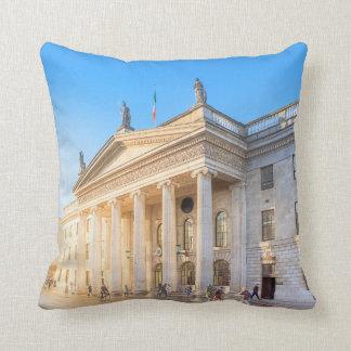 La oficina de correos histórica de Dublín Irlanda Cojín