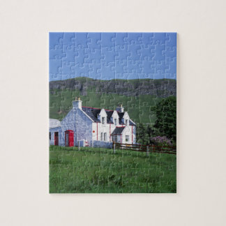 La oficina de correos, Linicro, isla de Skye, mont Puzzle Con Fotos