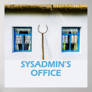 La oficina de Sysadmin Póster