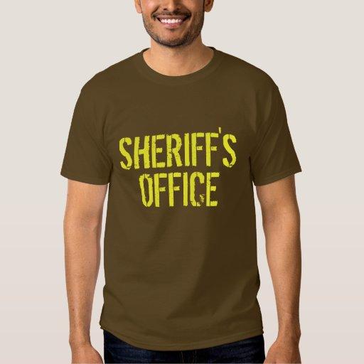 La oficina del sheriff camisas