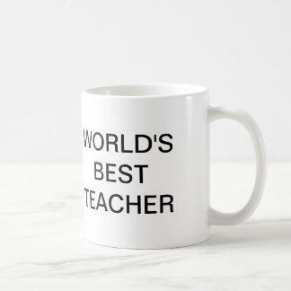 La oficina, el mejor profesor del mundo taza de café