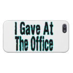 La oficina iPhone 5 cárcasa