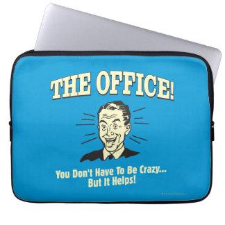 La oficina: Usted no tiene que estar loco Fundas Computadoras