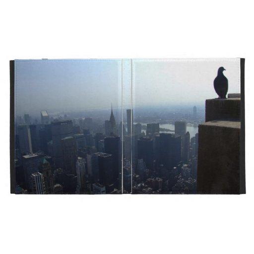 La ojo-vista del pájaro del top de Empire State Bu