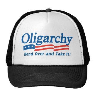 ¡La oligarquía - curva encima y lo toma! Gorra