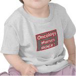 ¡La oncología cuida la roca! Camisetas