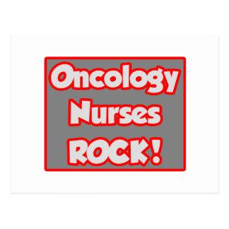 ¡La oncología cuida la roca! Postal