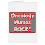 ¡La oncología cuida la roca! Tarjeta